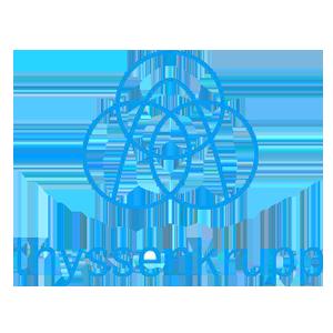 Thyssenkrupp լոգոն