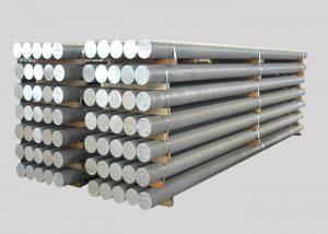1080,2A11,3003,4A11,5754,6082,7A05 խառնուրդ ալյումինե ձուլակտոր