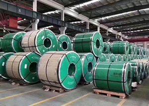 Չժանգոտվող պողպատից կծիկ ASTM JIS DIN GB- ով